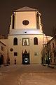 Kostel Panny Marie sněžné sníh 2010.jpg