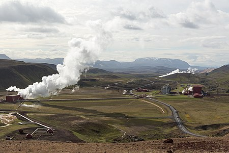 Krafla power plant - Kröflustöð