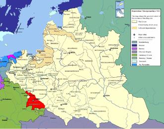 Kraków Voivodeship - Kraków Voivodeship of the Polish-Lithuanian Commonwealth.