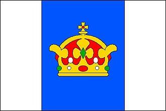 Krouna - Image: Krouna vlajka