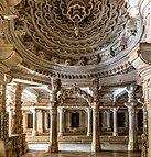 Binnenland van de Mahavira-tempel