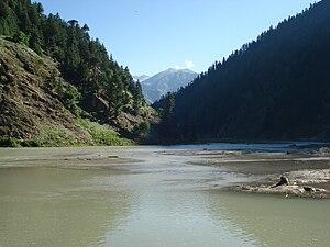 Kunhar River - Image: Kunhar river in Naran valley of Pakistan