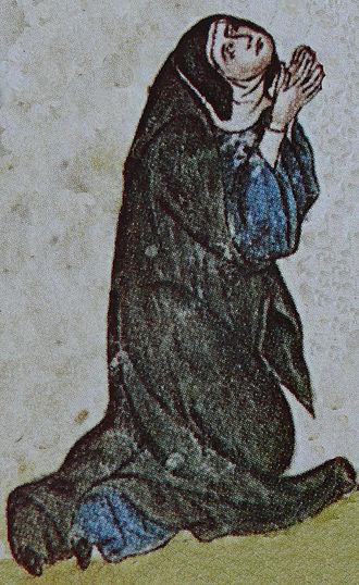Kunigunde of Bohemia - Kunigunde as a nun