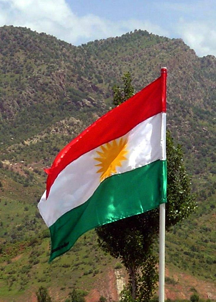 Kurdish flag photo