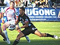 Kurt Gidley and Benji Marshall (26 April 2009).jpg