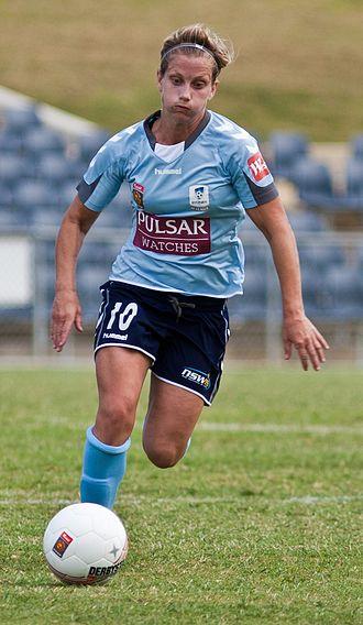 Kylie Ledbrook - Ledbrook playing for Sydney FC in 2010