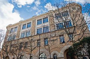 École Duperré - Duperré School Facade.