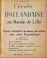 L'Ecole Hollandaise au musée de Lille - Présentation du livre.jpg