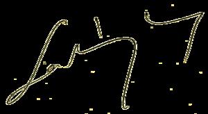 László Ladányi - Image: László Ladányi's signature