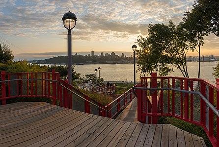 Lévis city, Québec