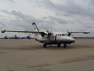 Trade Air - A former and now retired Trade Air Let L-410 Turbolet