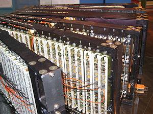 Datasaab - Detail of the CK37 aircraft computer