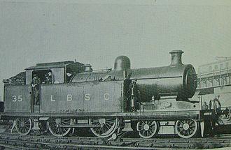 LB&SCR I2 class - An I4 incorporating a superheated boiler