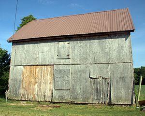Hearn Potato House - Image: LR Walls Hearn Potato Hs North Ext