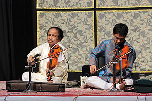 L. Subramaniam - Performance with his son Ambi Subramaniam at Bharat Bhavan Bhopal