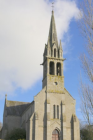 La Chapelle-Blanche, Côtes-d'Armor - The church of Notre-Dame-de-Pitié