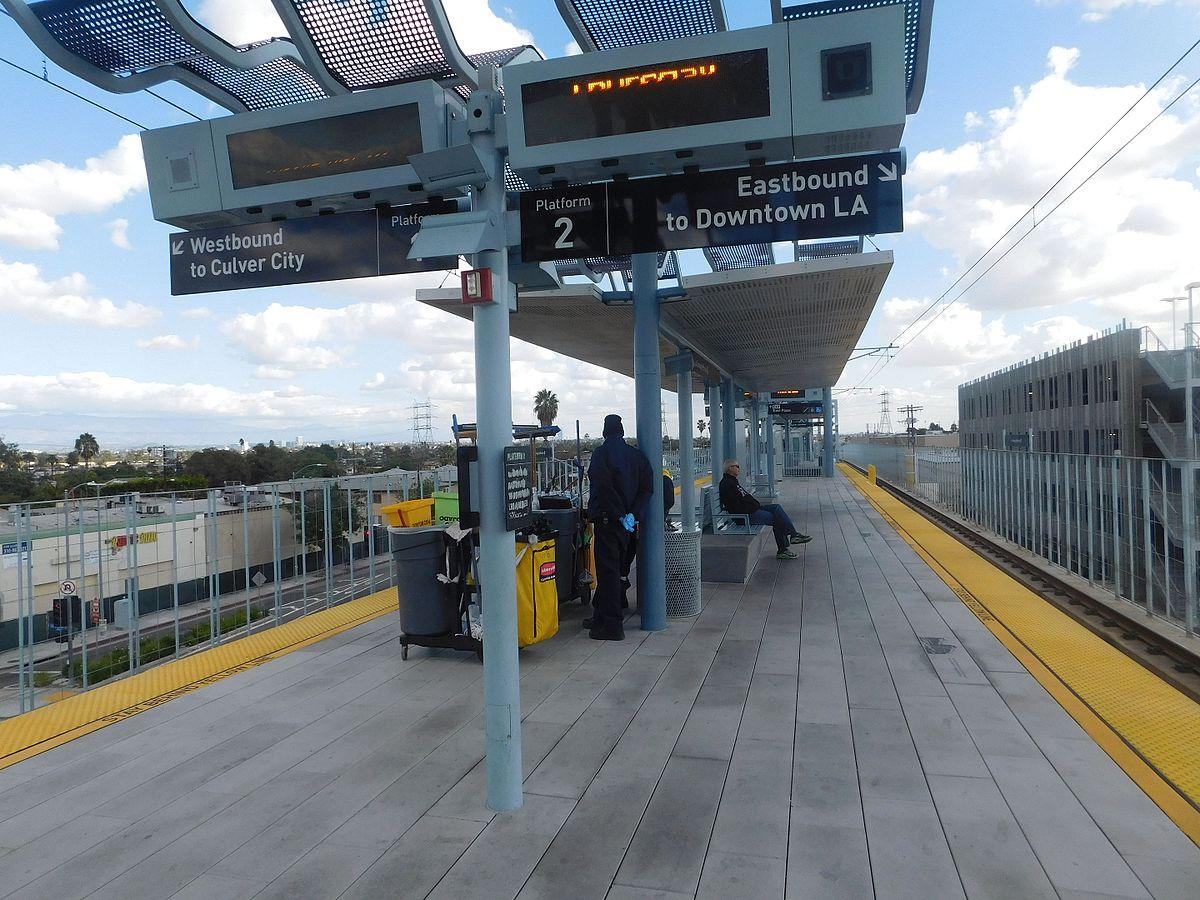 La Cienega Jefferson Station Wikipedia