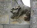 La Guerche-de-Bretagne (35) Basilique Collatéral sud Détail sculpté 06.JPG