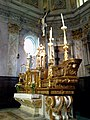 La Roya Breil Eglise Sancta Maria Choeur Autel - panoramio.jpg