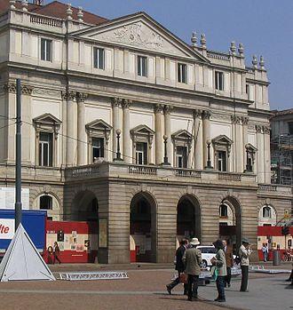 Piazza della Scala - Image: La Scala