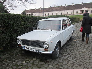 VAZ-2101 - Lada 1200 in Hunedoara, Romania