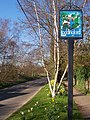 Laddingford Village Sign - geograph.org.uk - 1231796.jpg