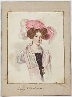Edward Cromwell Disbrowe - Image: Lady Disbrowe by Brian Searby (Middleton Album)