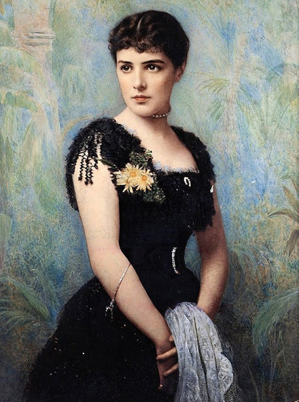 Lady Jennie Spencer-Churchill (1854-1921) (B)