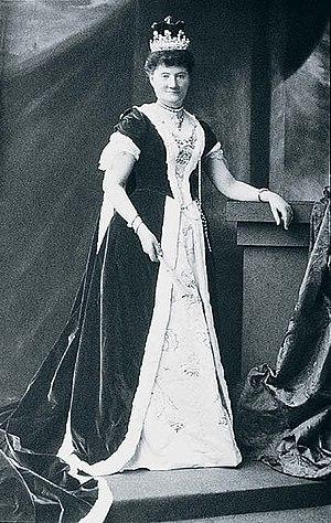John Rolls, 1st Baron Llangattock - Image: Lady Llangattock mw 59170