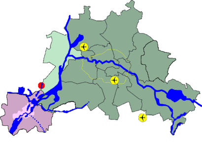 How to get to Groß Glienicke with public transit - About the place