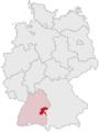 Lage des Alb-Donau-Kreises in Deutschland grey.png