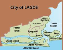 Suddivisione amministrativa di Lagos