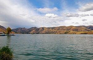 Lake Paca - Laguna de Paca in Jauja, Junin, Peru