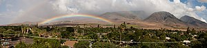 Lahaina, Hawaii - Image: Lahaina panorama