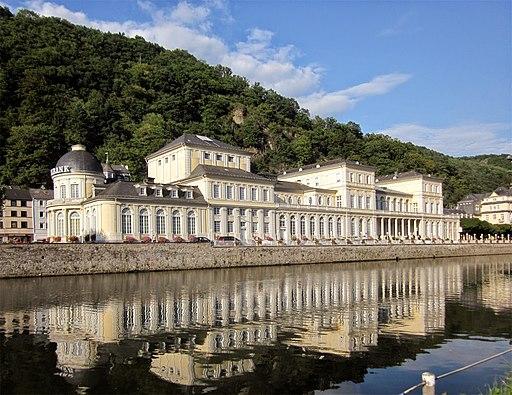 Lahn river and casino, Bad Ems, Rheinland-Pfalz, Germany - panoramio