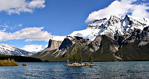Bow River - Lake Minnewanka