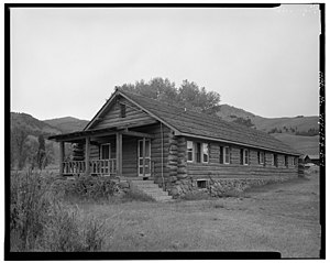 Lamar Buffalo Ranch - Image: Lamar Buffalo Ranch Buildings 03