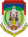 Official seal of Waropen Regency