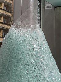 Безосколочное стекло Википедия