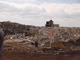 Landfill - A landfill in Perth, Western Australia