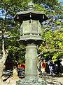 Lantern by honden - Kurama-dera - Kyoto - DSC06658.JPG