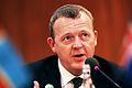 Lars Loekke Rasmussen, statsminister Danmark. Nordiska radets session 2009.jpg