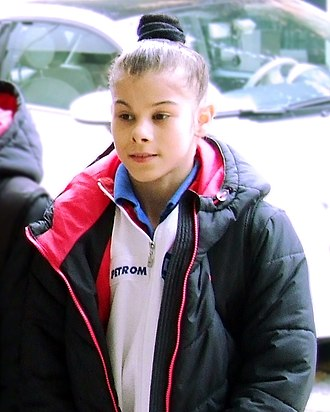 Laura Jurca - Laura Jurca at the 2014 City of Jesolo Trophy