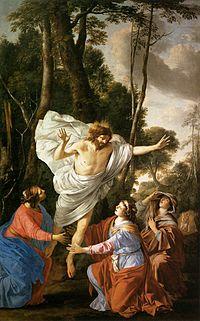 Laurent de La Hyre - Jesus Appearing to the Three Marys - WGA12319.jpg