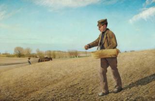 """""""The Sower"""". Frederiksværk"""