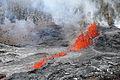 Lava Fountains at Kilauea Volcano in Hawaii 20110306.jpg
