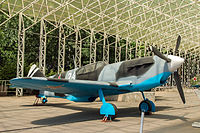 Lavochkin LaGG-3 in the Great Patriotic War Museum 5-jun-2014.jpg