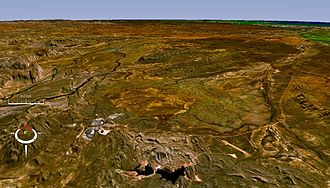 Gulf Country - Terrain around Lawn Hill crater