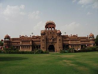 Bikaner - Laxmi Niwas Palace, Bikaner