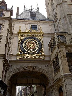 Astronomical clock - Le Gros Horloge